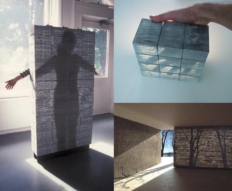 производство прозрачного бетона